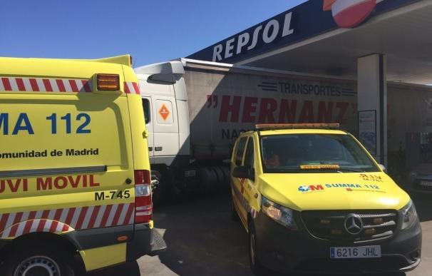 Muere un hombre de 72 años tras ser atropellado por un camión cuando repostaba en una gasolinera