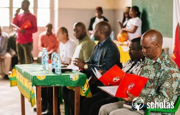 Scholas Ciudadanía reúne a 180 jóvenes en Mozambique para trabajar sobre problemas que les preocupan como drogas y acoso