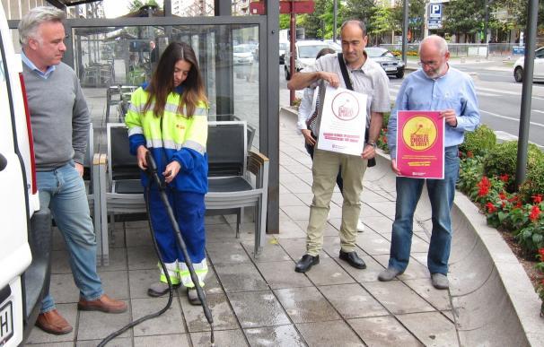 Ayuntamiento retoma las campañas de concienciación ciudadana contra el desechado irresponsable de chicles en la ciudad