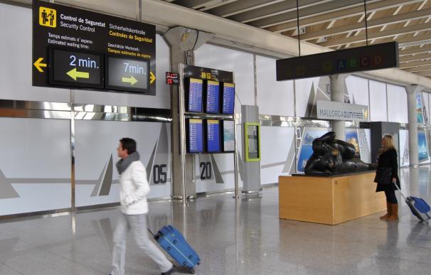 Baleares espera más de 1,18 millones de pasajeros y 7.600 vuelos durante el puente de agosto