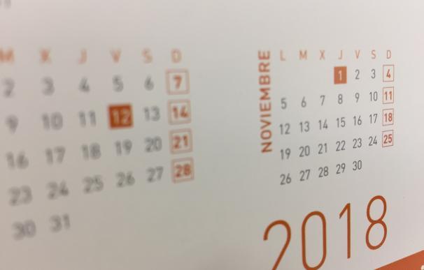 La Junta aprueba el calendario laboral de 2018, que recoge como festivos en C-LM el 29 de marzo y el 31 de mayo