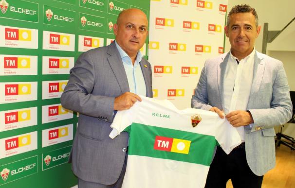 TM Grupo Inmobiliario renueva como patrocinador del Elche para la temporada 2017-18