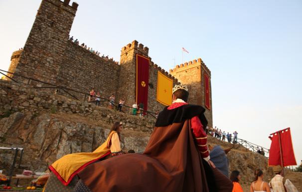 Arrancan este jueves las XXII Jornadas Medievales de Cortegana con el tradicional cortejo hacia el castillo