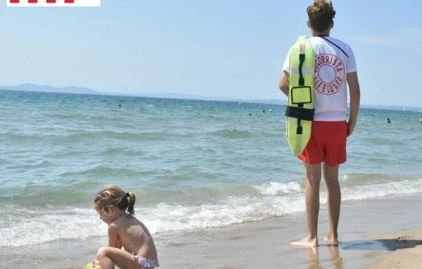 Reabren las playas cerradas por mala mar pero sigue vetada Badalona por calidad del agua
