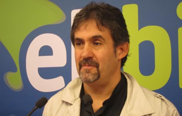 """Urizar cree """"una barbaridad"""" que se pueda plantear que EA salga de EH Bildu y se proponga como mera coalición electoral"""