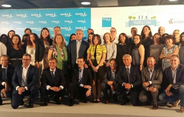 Más de 150.000 personas de 40 empresas participarán en el III Sanitas Healthy Cities