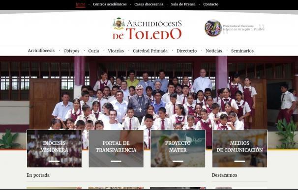 La nueva web del Arzobispado de Toledo contará con un portal de transparencia y un espacio dedicado a la Catedral