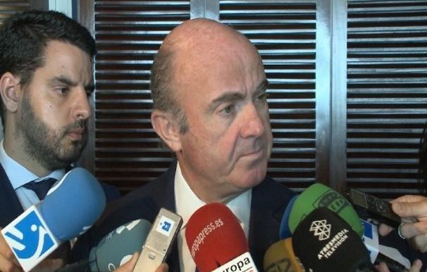 De Guindos confía en contar con el apoyo de Ciudadanos, PNV y Coalición Canaria para aprobar los PGE de 2018