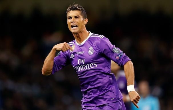Cristiano, primer jugador en marcar en tres finales de Champions y de nuevo pichichi