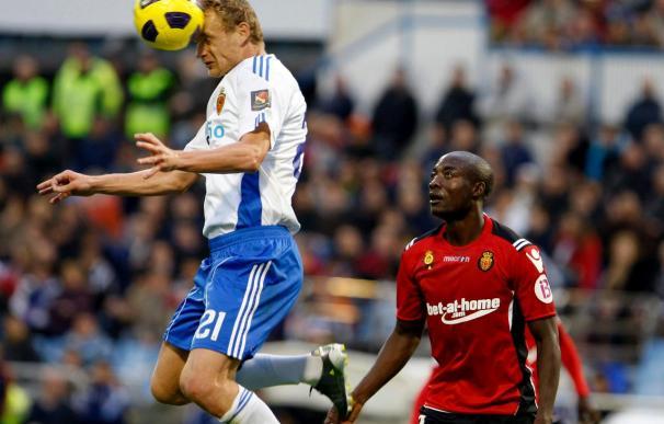 3-2. El Zaragoza remonta al Mallorca con un gol de penalti en el último segundo