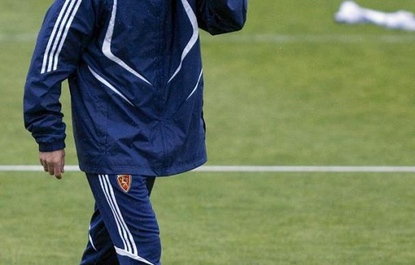 El Zaragoza vuelve a los entrenamientos con el rumor de la destitución de Gay