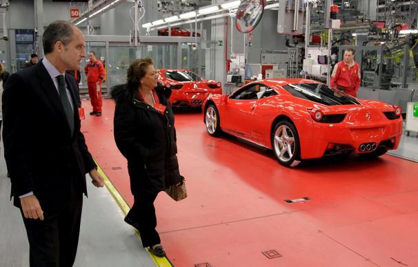 Francisco Camps dice que aún se trabaja en traer a Valencia el parque temático de Ferrari