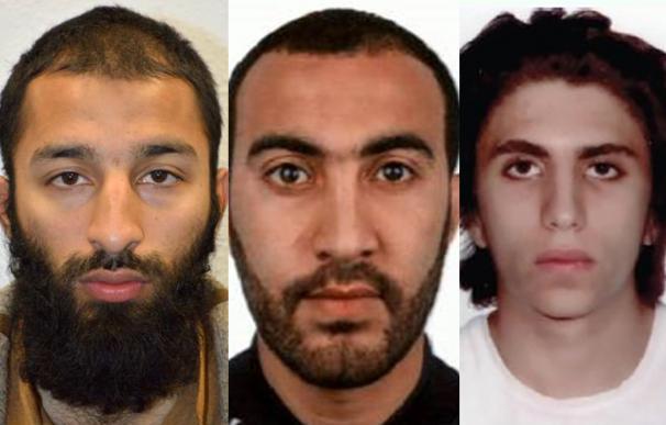 Shazad Butt, Rachid Reodouane y Yusef Zaghba. Los terroristas de Londres