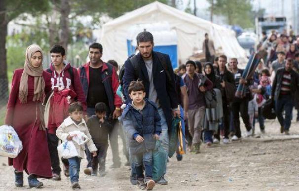 Gran parte de los refugiados tienen como destino Alemania