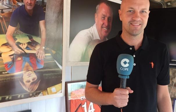 """Jordi Cruyff: """"Si me siento en un banquillo, buscarán comparaciones y no las podré ganar nunca"""""""