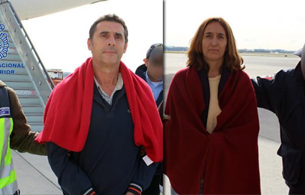 Los presuntos etarras Juan Jesús Narváez Goñi e Itziar Alberdi llevaban veintidós años en paradero desconocido