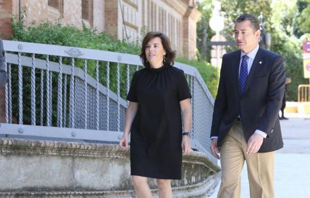"""Santamaría reivindica capacidad de diálogo del Gobierno frente a quienes buscan """"inestabilidad o saltarse la ley"""""""