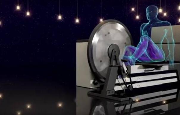 Treinta minutos de ejercicio bastan para iluminar una casa, según este inventor indio.