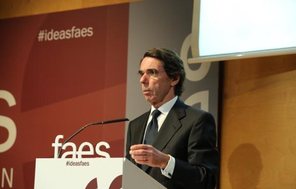 Aznar reúne a sus exministros de Exteriores en el curso de verano de FAES, al que no irán ni Rajoy ni la cúpula del PP