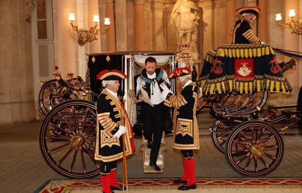 El Rey Felipe acredita a los nuevos embajadores de seis países