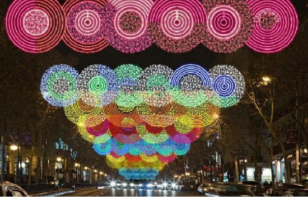 La capital inaugura la Navidad con el encendido de 3,8 millones de bombillas este viernes