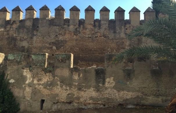 """Actuación en la Torre Blanca de la muralla de la Macarena por las ocupaciones y una """"colonia de gatos"""""""