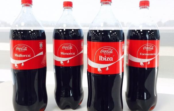 Las latas y botellas de Coca-Cola llevarán el nombre de las Baleares por Europa