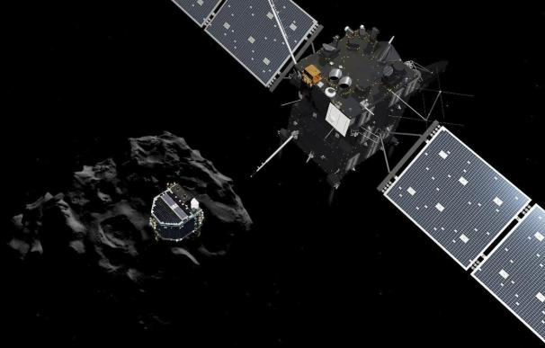 La ESA aterriza por primera vez en la historia en la superficie de un cometa