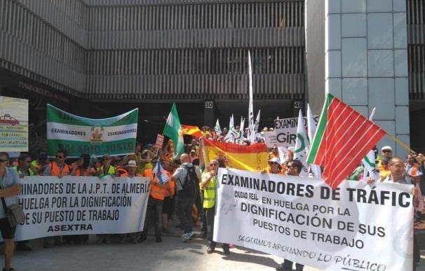 DGT cifra en 1.375 los alumnos afectados por la huelga de examinadores en CyL