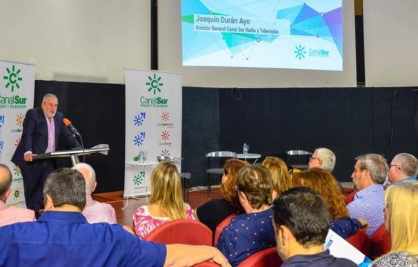 """Joaquín Durán destaca que Canal Sur es """"una empresa sólida, útil y preparada para el futuro multimedia"""""""