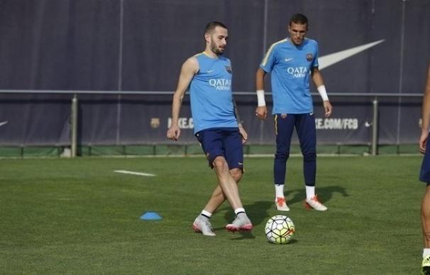 Aleix Vidal, fuera de la convocatoria del Barça para medirse a Osasuna