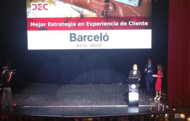 Barceló Hotel Group obtiene el premio a la 'Mejor estrategia de experiencia de cliente' de DEC