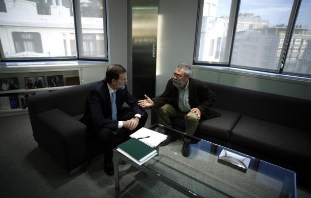 """Méndez no se siente """"presionado"""" por el plazo de Reyes propuesto por Rajoy"""