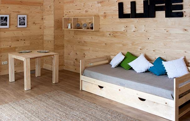 LUFE, 'el Ikea vasco' que triunfa en internet vendiendo camas a 30 euros