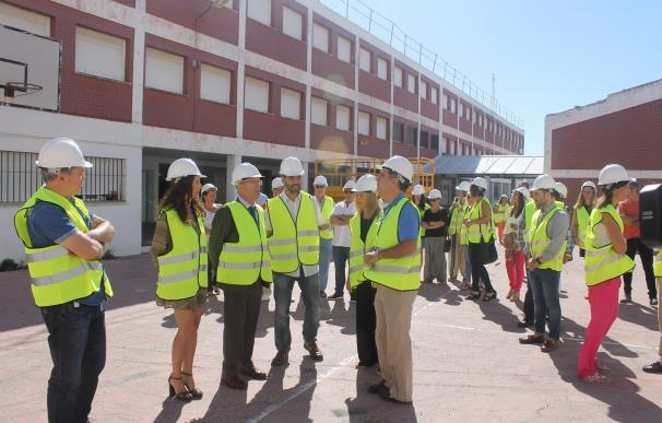 La Junta inicia las obras previstas en el CEIP Reggio de Puerto Real