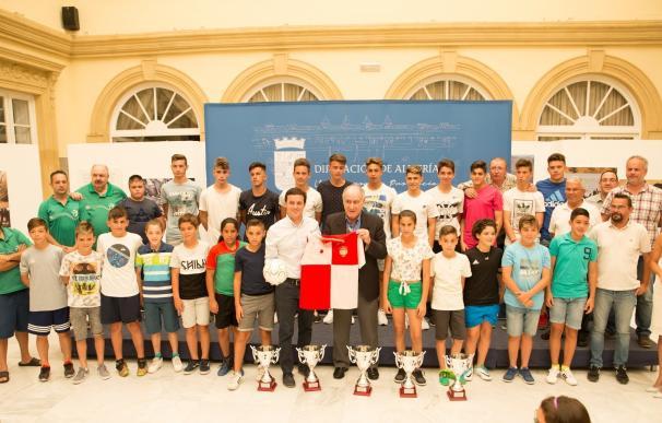 Las selecciones provinciales de fútbol sala brindan a la provincia sus triunfos en campeonato andaluces