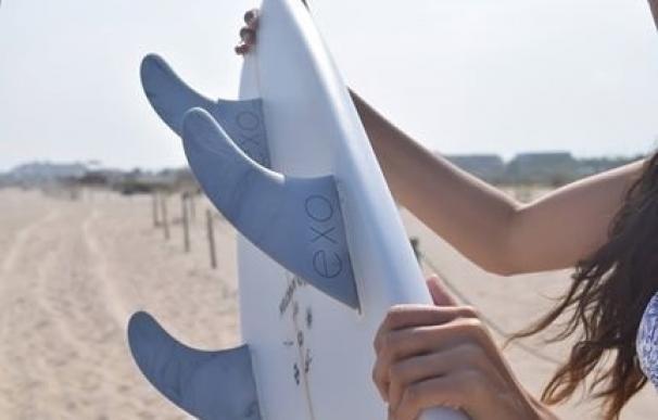 Crean en Canarias una empresa de diseño y fabricación de accesorios de surf 100% biodegradables