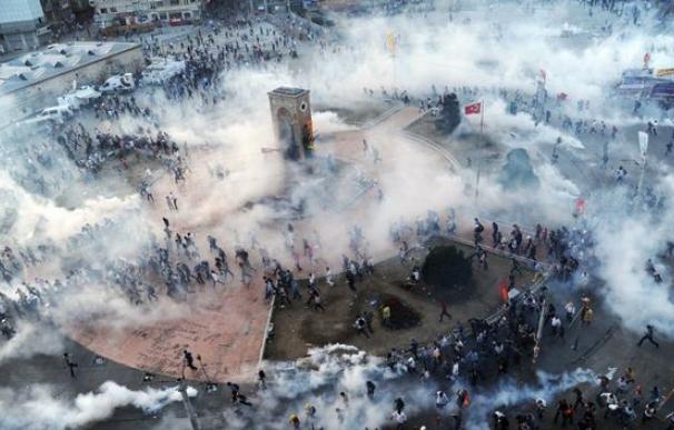 Revuelta en el Parque Taksim Gezi de 2013/ AFP