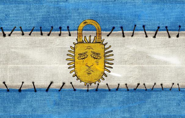 Ilustración del décimo aniversario del 'corralito'