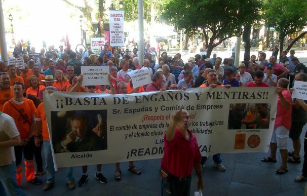 El pleno rechaza la moción de Participa para pedir la dimisión de Cabrera por el desalojo