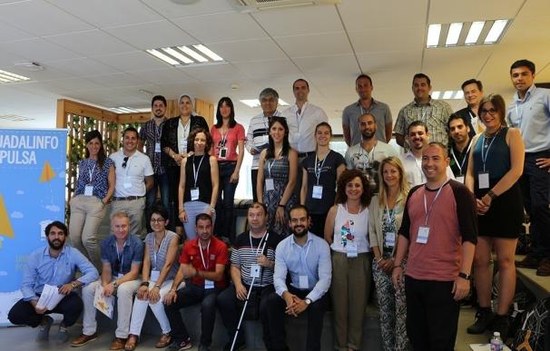 Tres gaditanos, entre los 30 innovadores que trabajarán sus proyectos en el II programa intensivo de Guadalinfo