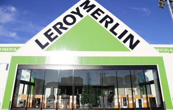 Exterior de una tienda de Leroy Merlín.