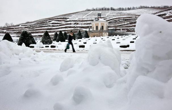 Fuertes nevadas continúan afectando al tráfico aéreo en Alemania