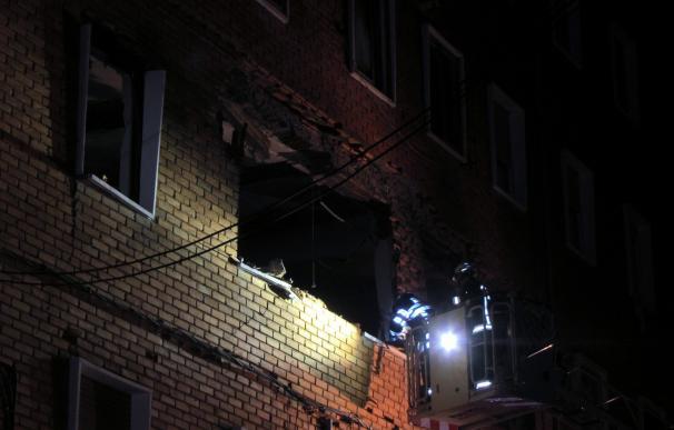 Nueve heridos en una explosión de gas en un edificio de Salamanca