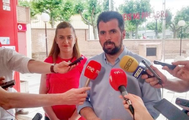 Tudanca presenta el 30% de avales de los militantes para proclamarse, de nuevo, secretario regional del PSOE