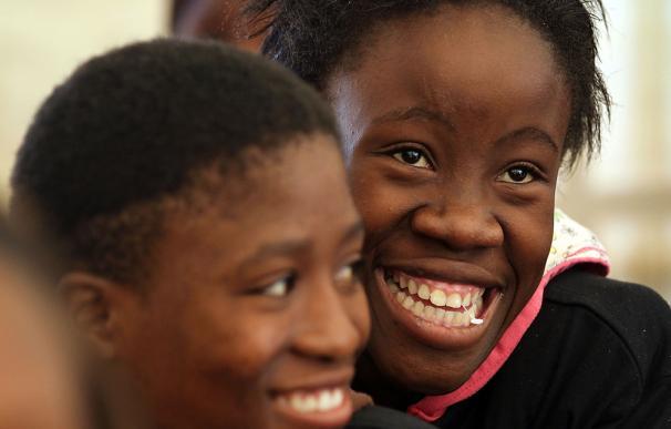 El número de contagios de sida a niños se ha reducido. Imagen: John Moore (Getty)