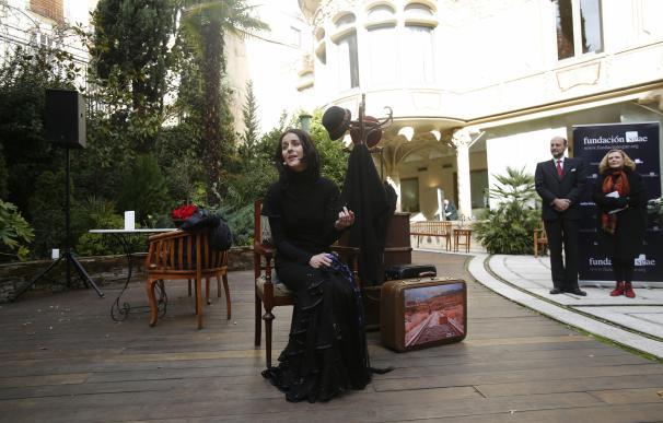 """La SGAE renombra 'Ana Diosdado' el jardín de su sede en Madrid para homenajear a una actriz """"ejemplo de generaciones"""""""