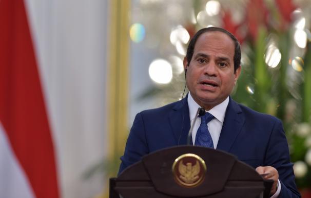 El presidente de Egipto, Abdel Fattah al-Sisi
