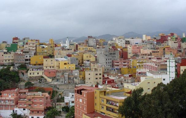 Los yihadistas detenidos en Ceuta en junio de 2013 se ocultaban en la barriada de Príncipe Alfonso. Foto: Fidel Raso