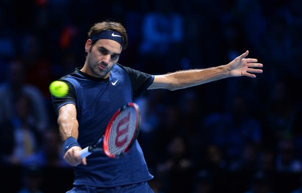 Federer pudo con Djokovic. / AFP